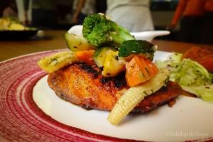 mexican chilli rubbed fish, kargo